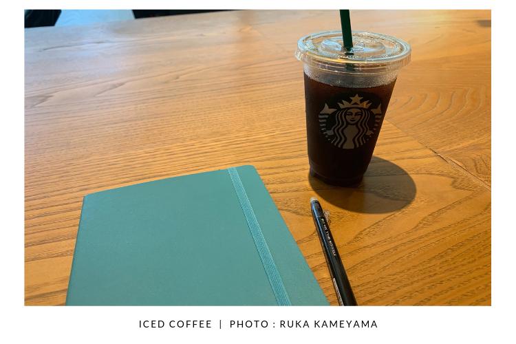 ルカさんアイスコーヒー