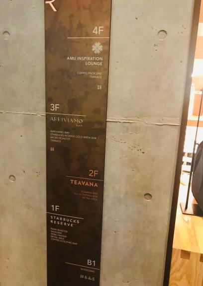 スタバロースタリー東京4階・スターバックスパートナー