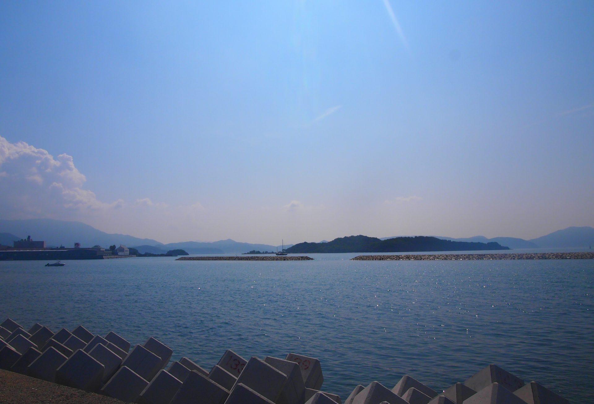 小豆島の風景・ナナメドリ