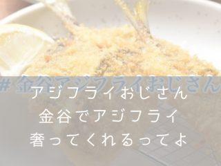 金谷アジフライおじさん・ナナメドリ