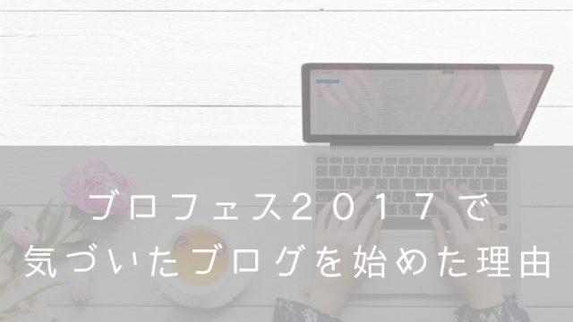 ブロフェス2017感想・ナナメドリ