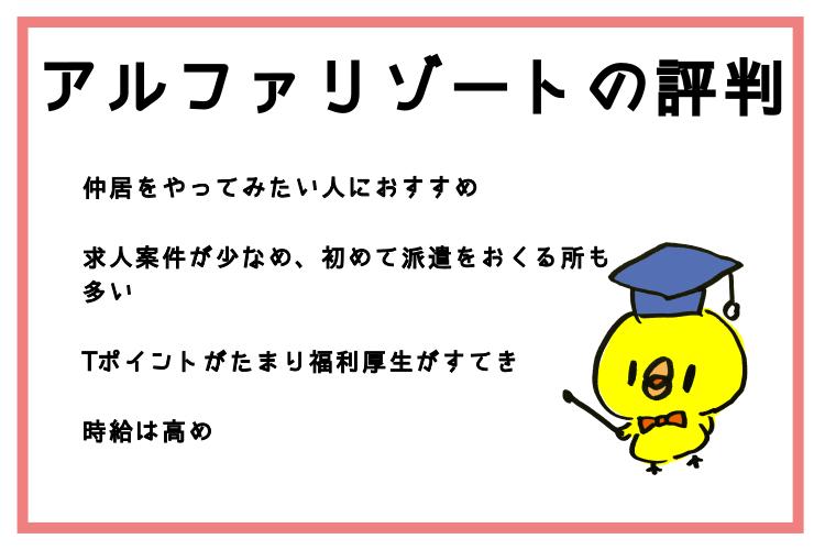 アルファリゾート評判口コミ・ナナメドリ