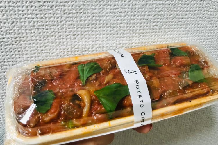 ウーバーイーツポテトクリーム・ナナメドリ
