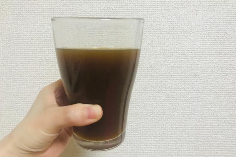 サジージュースとコーラ・ナナメドリ