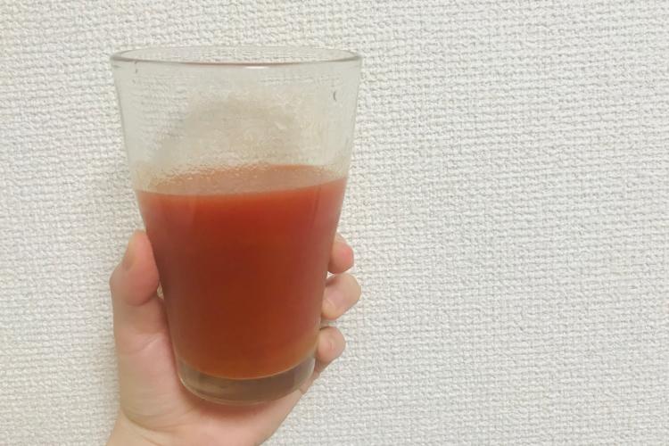 サジージュースとトマトジュース・ナナメドリ