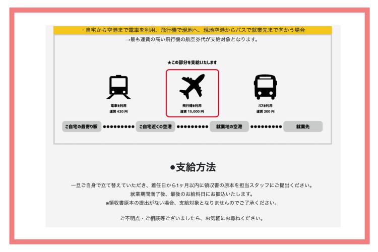 ハッシャダイリゾート交通費・ナナメドリ